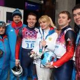 Российские саночники в десятке сильнейших