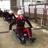 Роликовая тренировка на трассе в Сигулде (фото: Вера Бардина)