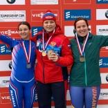 Кубок наций. Виктория Демченко - золото, Екатерина Катникова - серебро