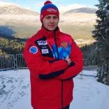 Александр Горбацевич - сборная России по санному спорту