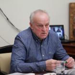 Старший тренер сборной России по санному спорту Александр Васин