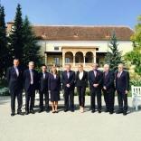 Участники встречи в Бадене (Австрия)
