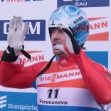 Чемпионат Европы по санному спорту в Парамоново. Альберт Демченко и другие во второй попытке
