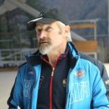 Контрольная тренировка сборной России по санному спорту на олимпийской трассе в Сочи