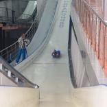 Отработка техники на стартовой эстакаде