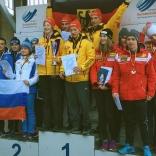 Россияне - серебро в командных соревнованиях