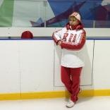 Старший тренер юниорской команды Вера Бардина