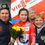 Сборная России по санному спорту - чемпион Европы в эстафете!