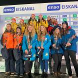 Анастасия Кропачева/Алена Старкова показали 3-ий результат в выступлении экипажей