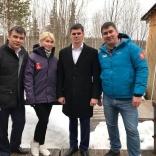 Альберт Демченко, Наталия Гарт, Алексей Колтырин, Олег Демченко