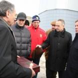 Дмитрий Медведев открыл санно-бобслейную трассу в Парамоново