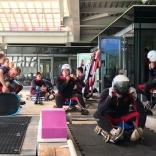роликовая подготовка спортсменов молодежной сборной команды России по санному спорту