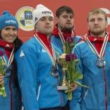Серебро российской сборной в командной эстафете
