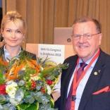 Президент FIL Йозеф Фендт поздравил с Днем рождения президента ФССР Наталию Гарт