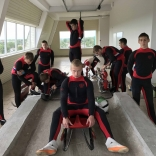 Юниорская сборная команда России по санному спорту