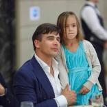 Альберт Демченко и дочь Виталина