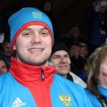 Семен Павличенко болеет за коллег по сборной