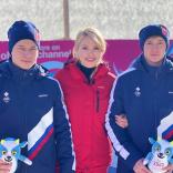 Президент Наталия Гарт поздравила призеров ЮЗОИ 2020