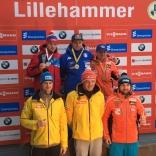 Этап Кубка мира по санному спорту в норвежском Лиллехаммере