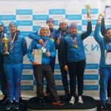 Чемпионат России 2017, командная эстафета