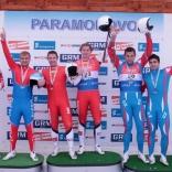Татьяна Иванова - победительница Кубка наций по санному спорту в Парамоново!