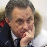 Министр спорта Виталий Мутко на санно-бобслейной трассе в Парамоново!