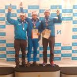 Чемпионат России 2017, мужчины/одноместные сани