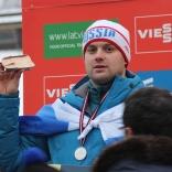 Серебряный призер этапа Кубка мира Семен Павличенко