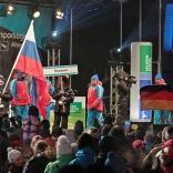 Торжественная церемония открытия чемпионата мира по санному спорту в Альтенберге