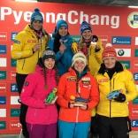Татьяна Иванова - победитель этапа Кубка мира в Корее