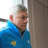 Тренер сборной по санному спорту Гела Георгобиани (команда резервного состава)