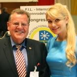 Президент FIL Йозеф Фендт и президент ФССР Наталия Гарт