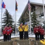 Серебро команды России в эстафете