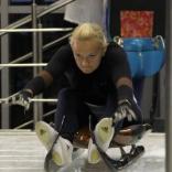 Тренировка на стартовой эстакаде женской сборной России