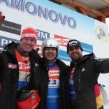 Победа Альберта Демченко на этапе Кубка мира в Парамоново!