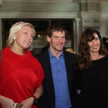Наталия Гарт на торжественном приёме «Алексей Немов и друзья большого спорта»