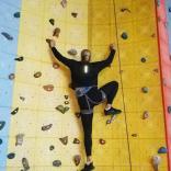 Тренировки на скалодроме