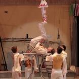 Приемка в Росгосцирке нового циркового номера, посвящённого санному спорту