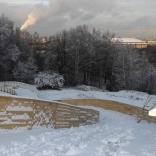 Вид со смотровой площадки Воробьевы горы
