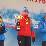 Победительниц Московского этапа Екатерина Лаврентьева