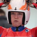 Соревнования женщин на одиночных санях на ЧР в Парамоново