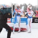 Первый день этапа Кубка мира по санному спорту в Парамоново