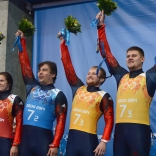 Российские саночники завоевали серебряные награды Олимпиады в Сочи